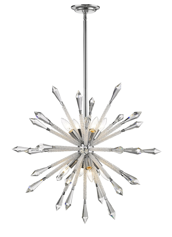 Pickering 8-Light Sputnik Chandelier