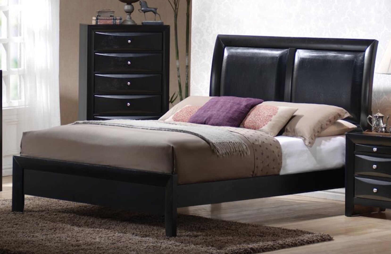 Leblanc Panel Bed Size: King