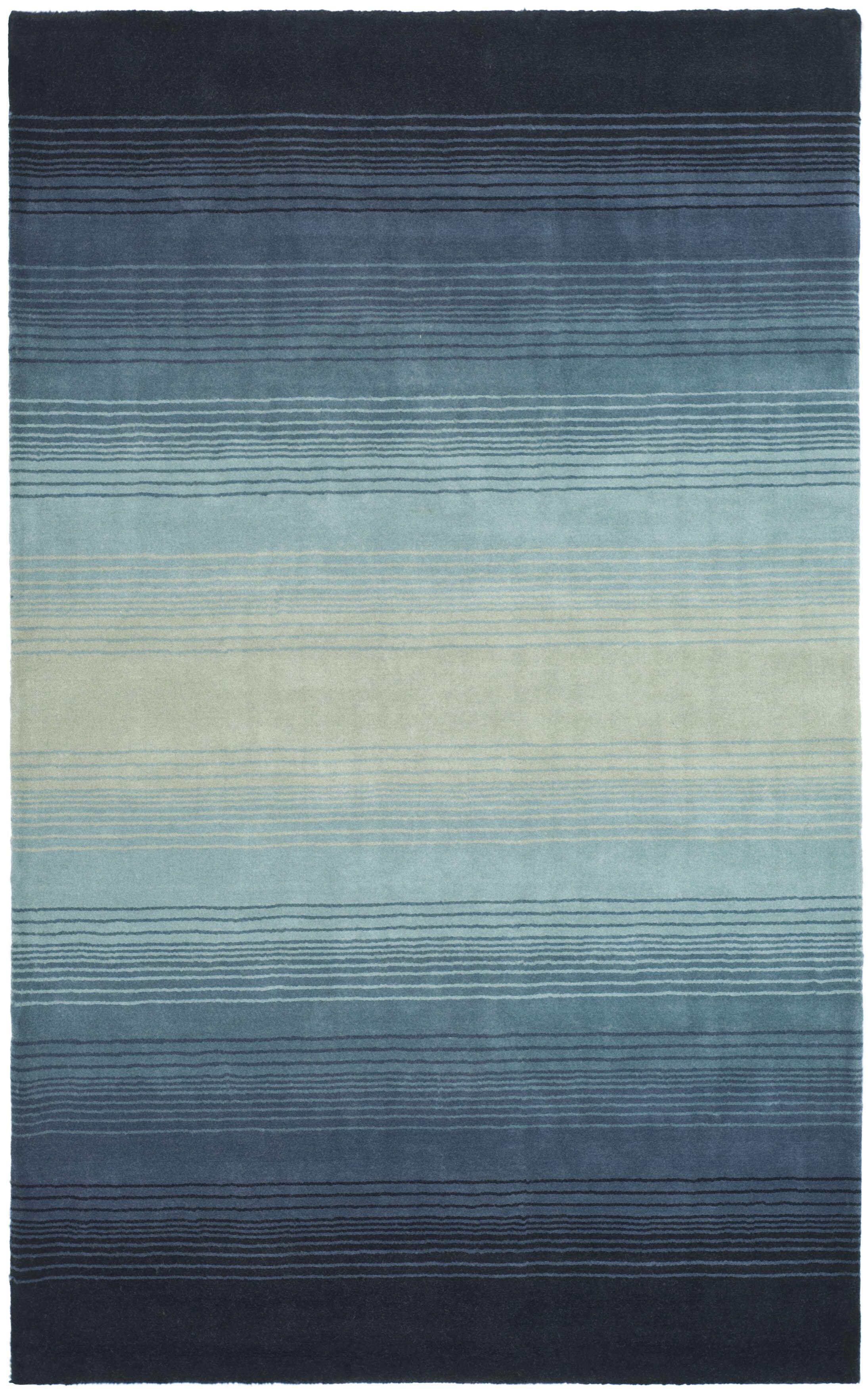 Mcneil Blue Area Rug Rug Size: Rectangle 8' x 10'