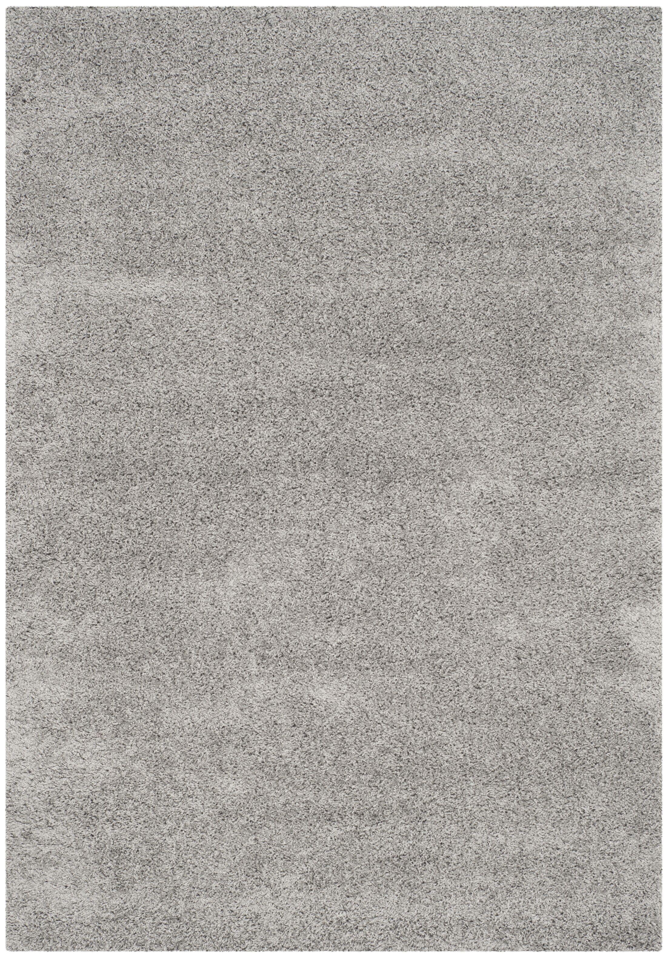 Mccall Silver Shag Area Rug Rug Size: Rectangle 6'7