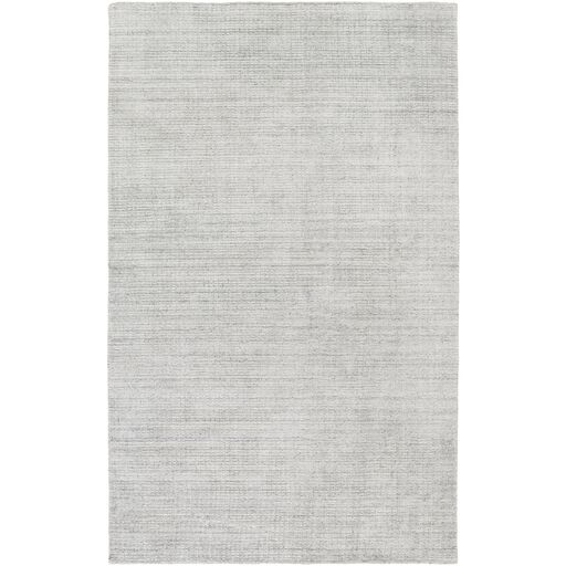 Ayers Hand-Loomed Gray Area Rug Rug Size: Rectangle 9' x 13'