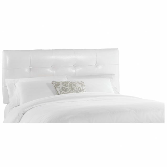 Coar Upholstered Panel Headboard Size: California King, Upholstery: Classico White