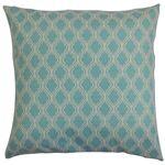 Deneb Geometric Outdoor Throw Pillow Size: 20