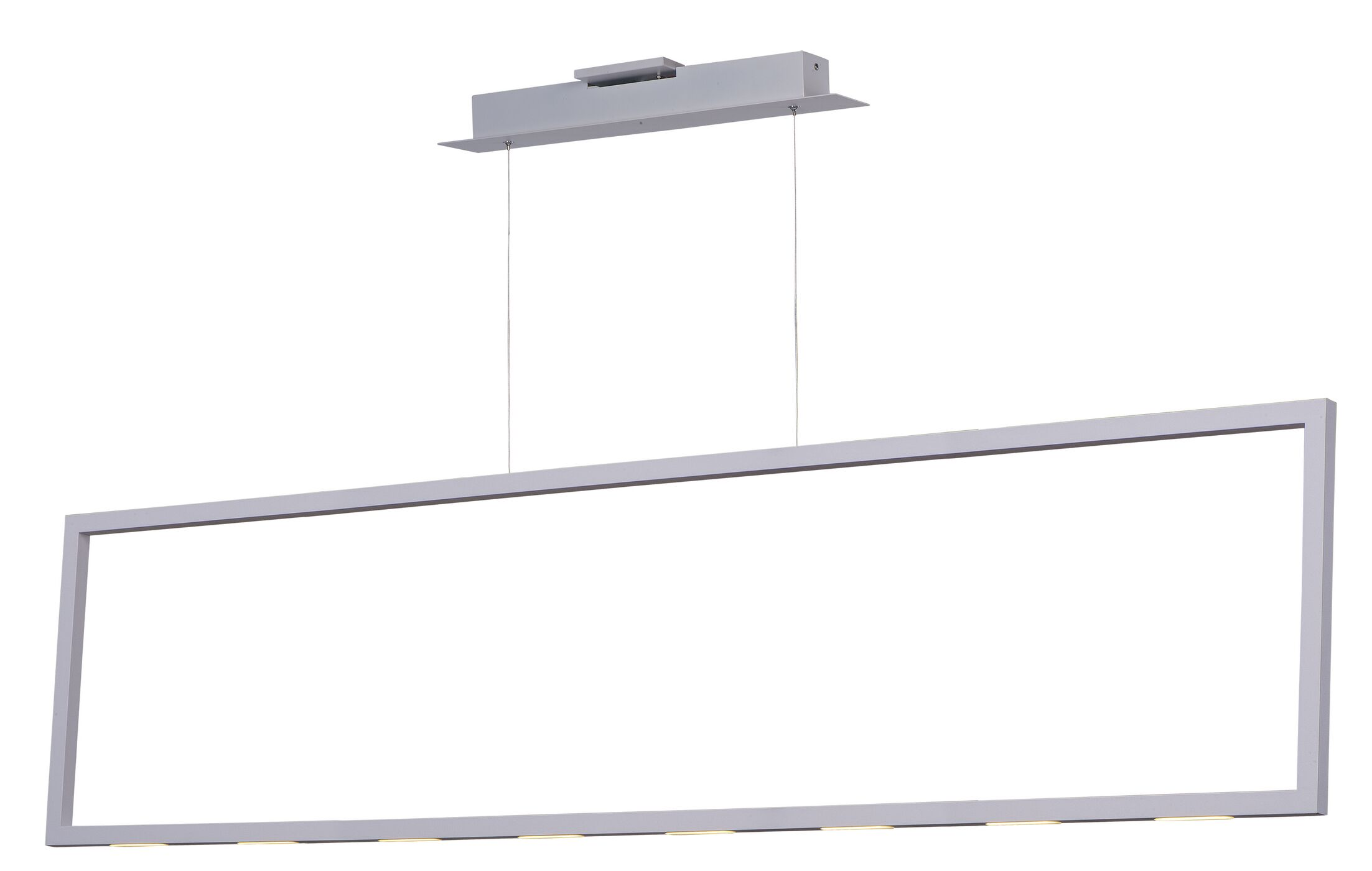 Burman Modern 1-Light Square/Rectangle Pendant