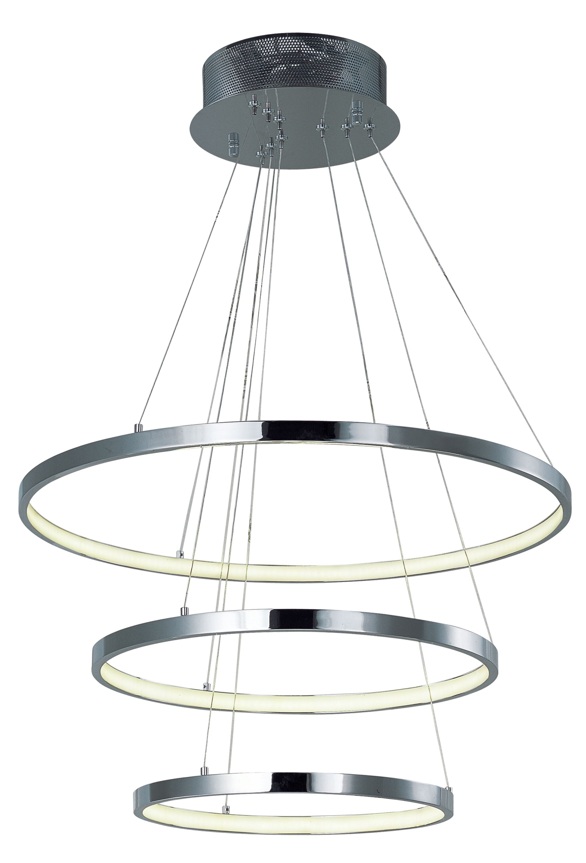 Brouillette 1-Light Oval Shade Pendant