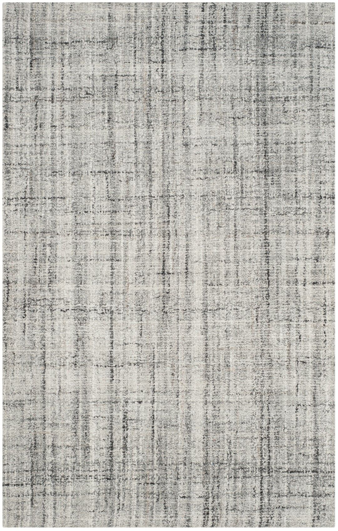 Dustin Hand-Tufted Gray Area Rug Rug Size: Square 6' x 6'