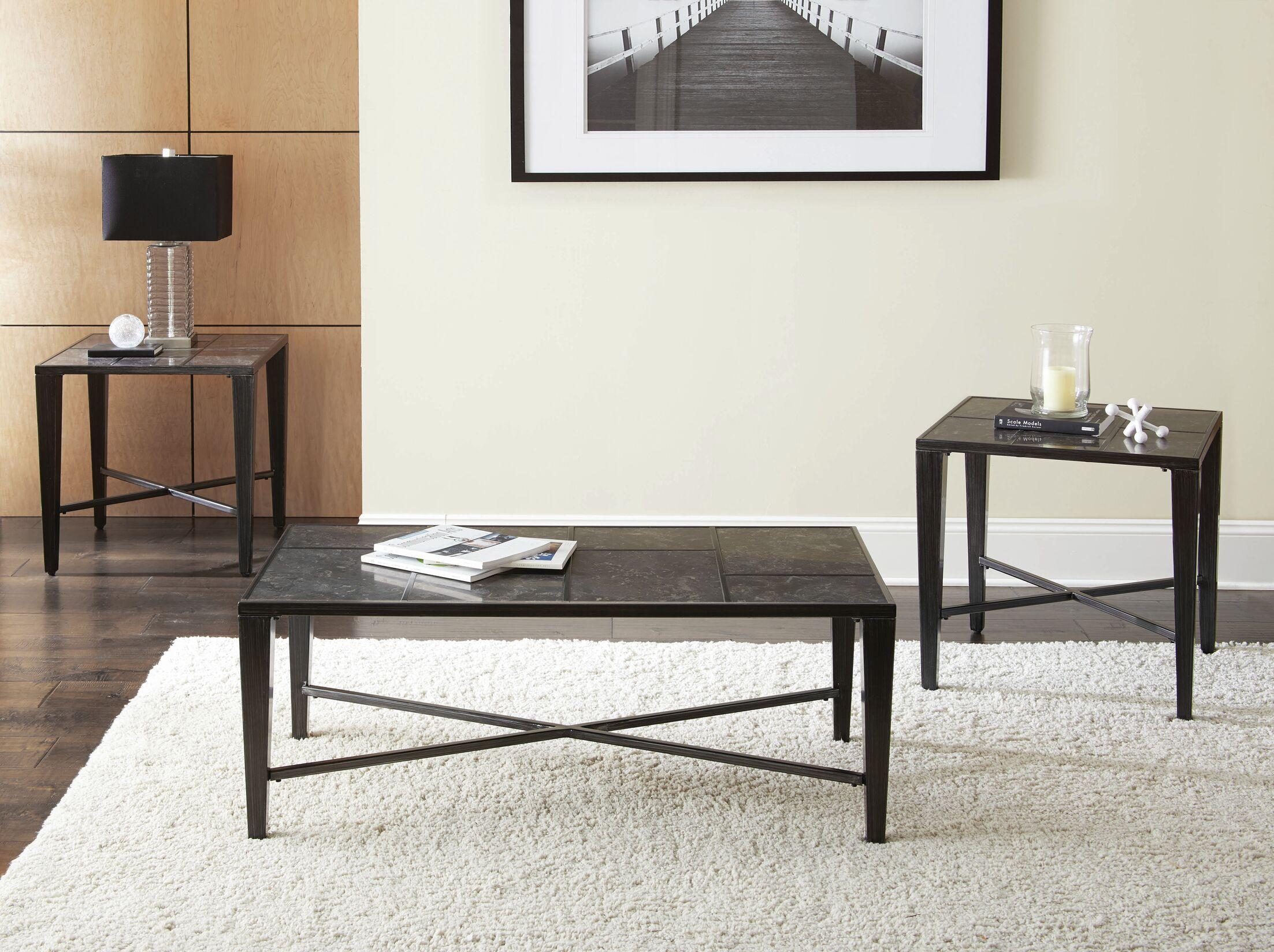 Hoa 3 Piece Coffee Table Set