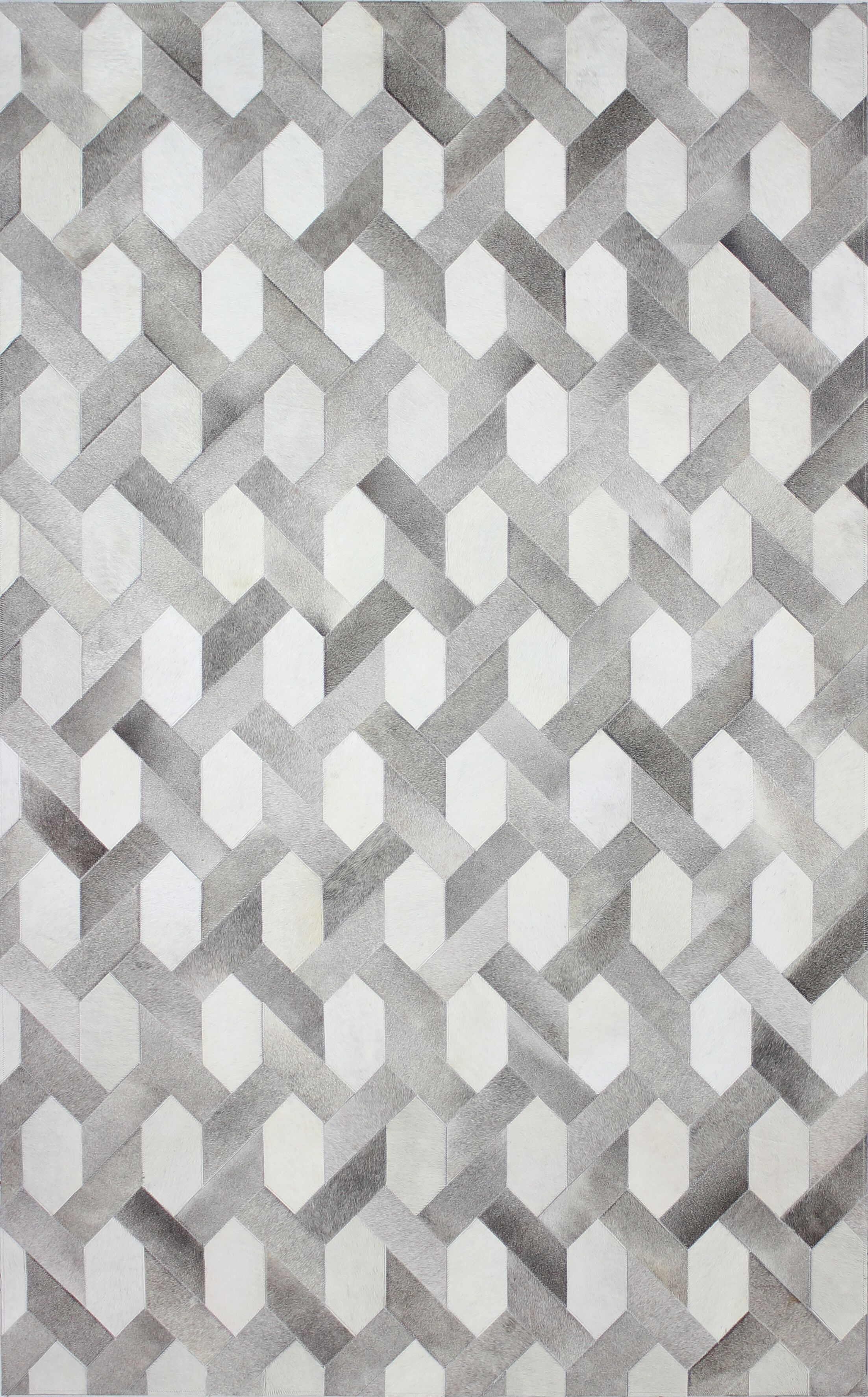 Davi Gray Indoor Area Rug Rug Size: 5' x 8'