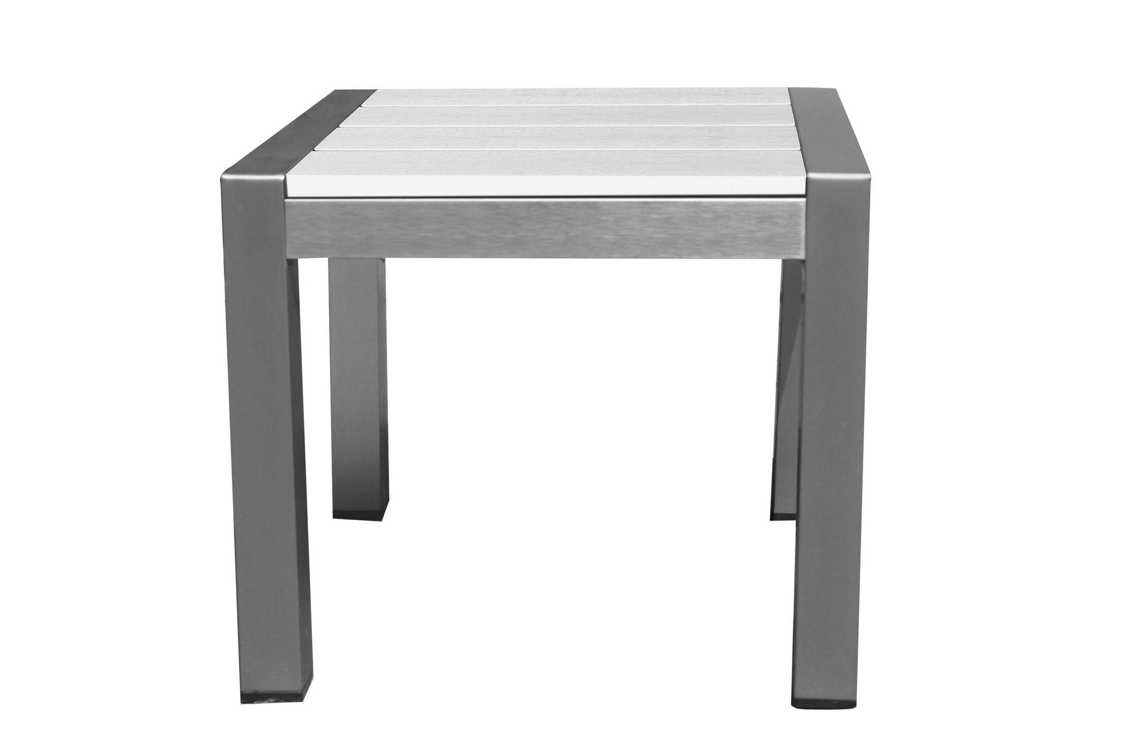 Ligon Side Table Finish: White