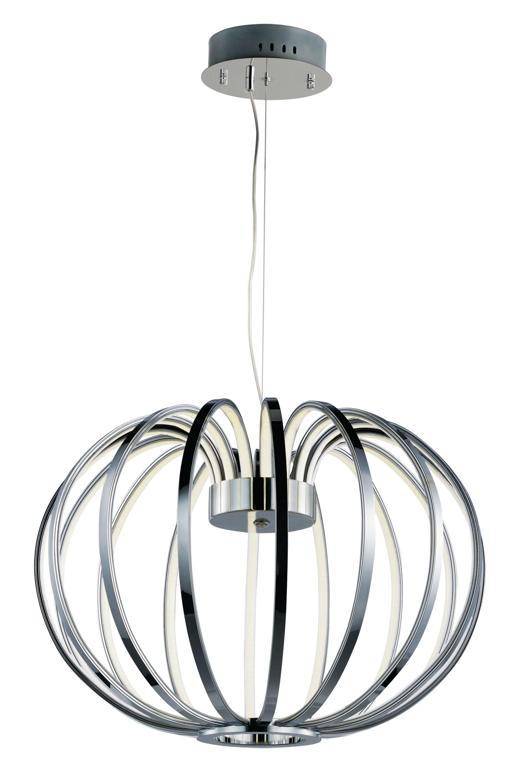 Alderamin 16-Light LED Globe Chandelier