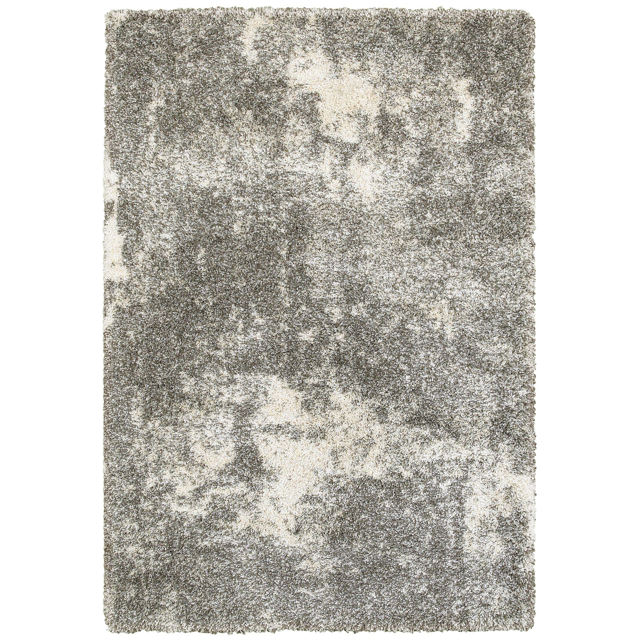 Leonard Gray/Ivory Area Rug Size: Rectangle 6'7