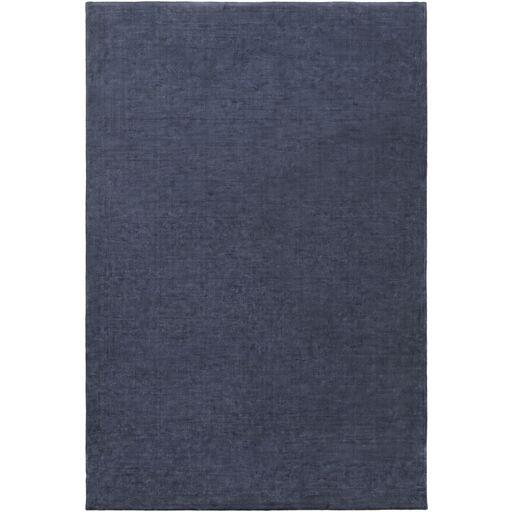 Ayala Hand-Loomed Navy Area Rug Rug Size: Rectangle 4' x 6'