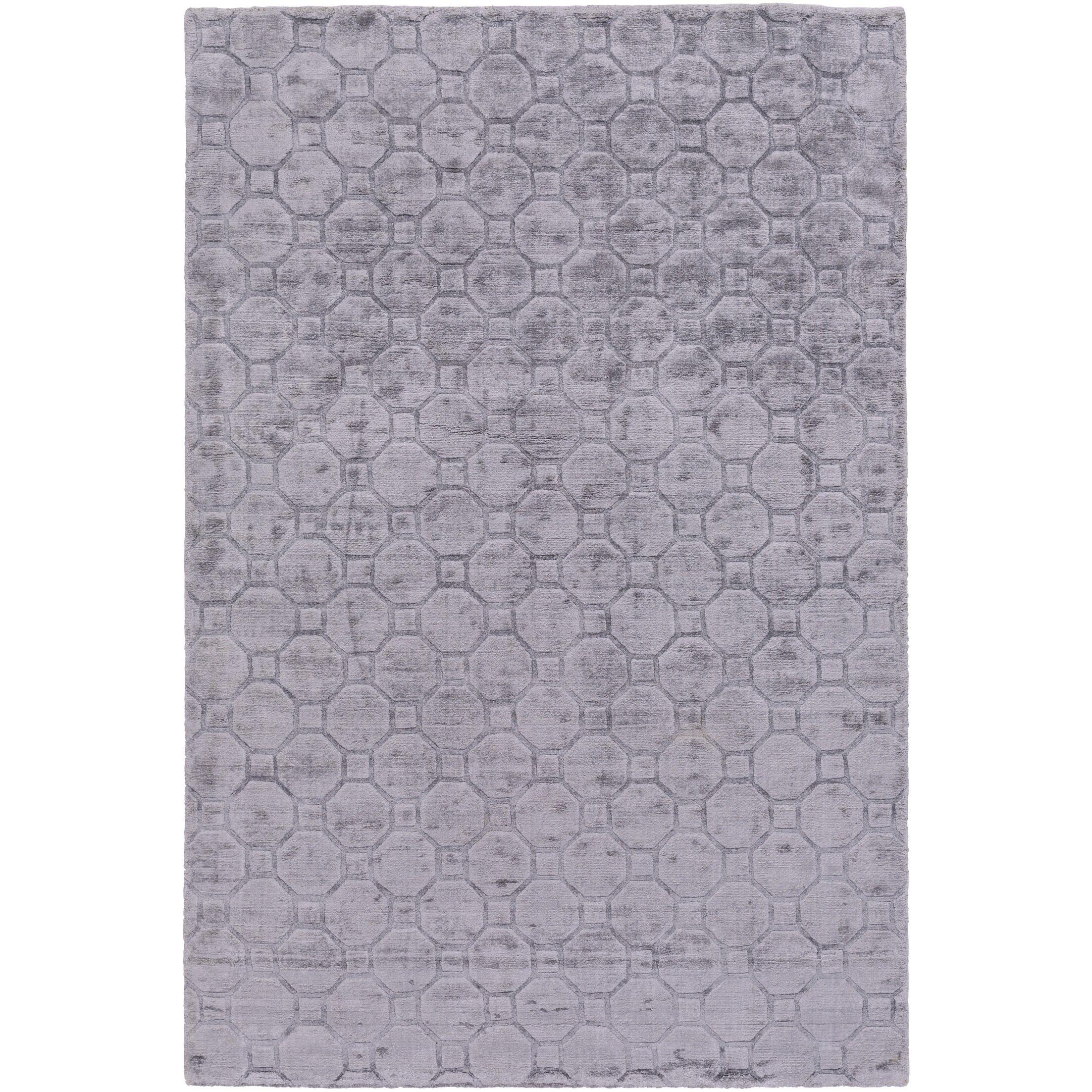 Autumn Hand-Loomed Medium Gray Area Rug Rug Size: Rectangle 2' x 3'