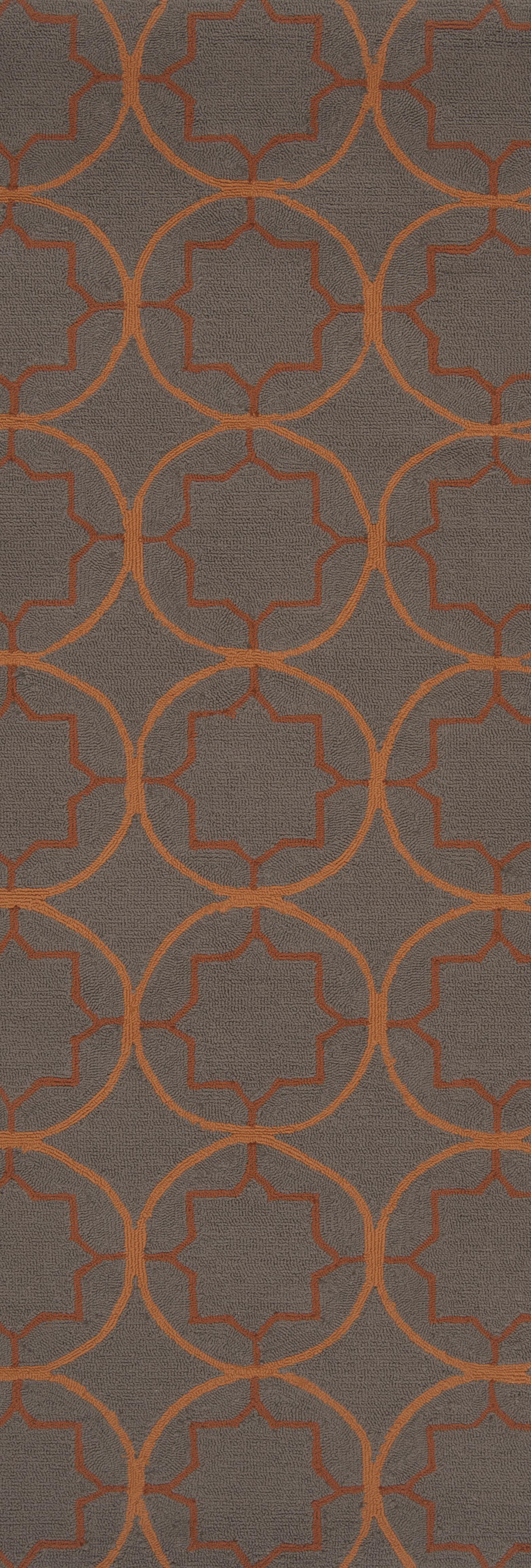 Becker Circle Indoor/Outdoor Rug Rug Size: Rectangle 3' x 5'