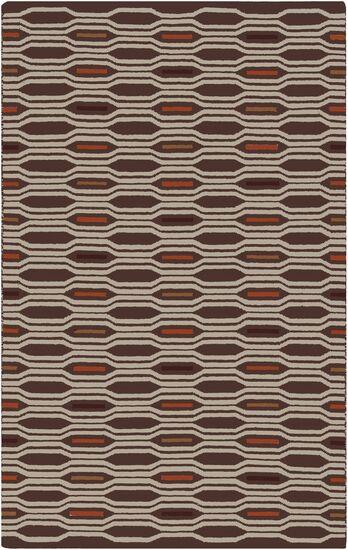 Litchfield Russet Geometric Area Rug Rug Size: Rectangle 8' x 11'