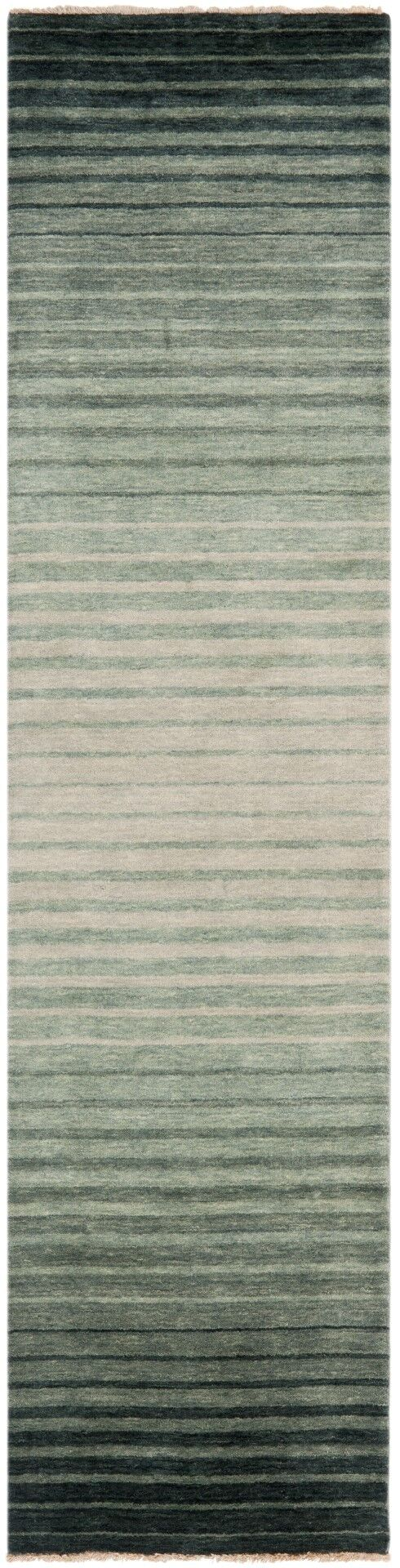 Armstrong Hand-Knotted Blue Area Rug Rug Size: Rectangle 5' x 8'