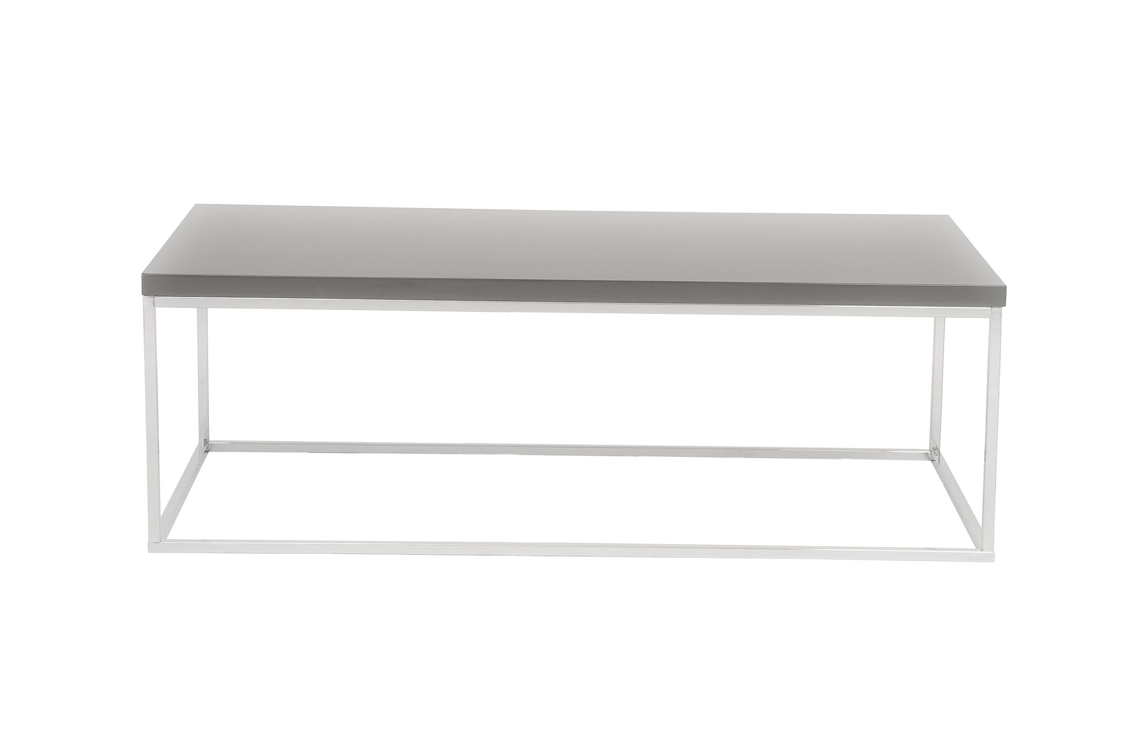 Travis Heights Coffee Table Top Color: Gray Lacquer