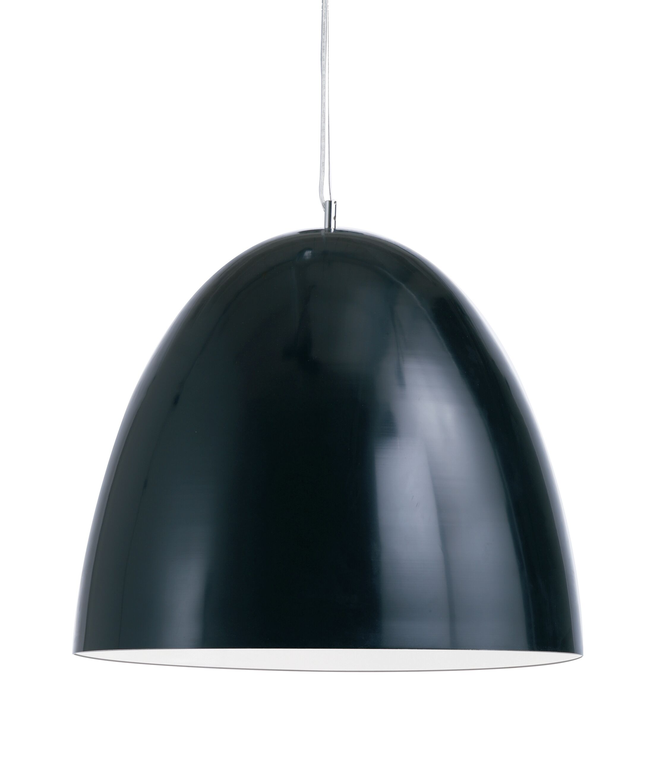 Brose Pendant Color: Black, Size: 23