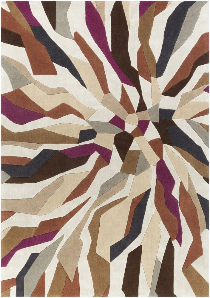 Beltran Hand-Tufted Multi Color Area Rug Rug Size: Rectangle 8' x 11'
