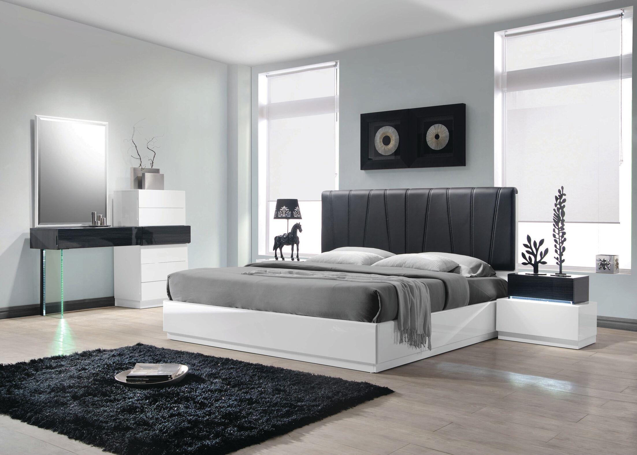 Linehan Platform 5 Piece Bedroom Set Size: King