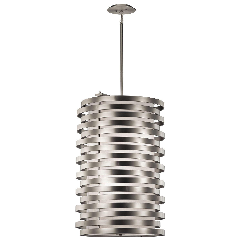 Rushmere 6-Light Cylinder Pendant Finish: Brushed Nickel