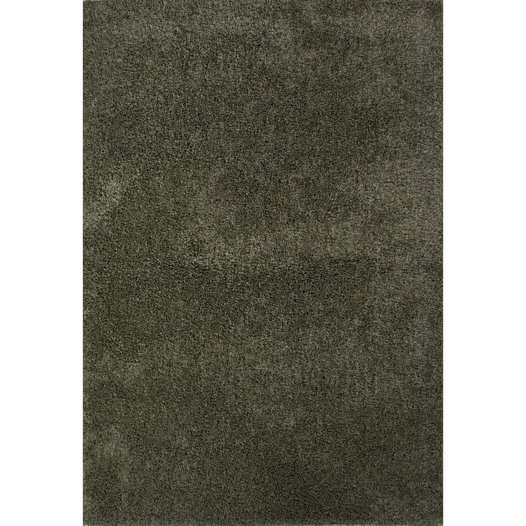 Brys Polyester Shag Forest Shade Area Rug Rug Size: 7'6