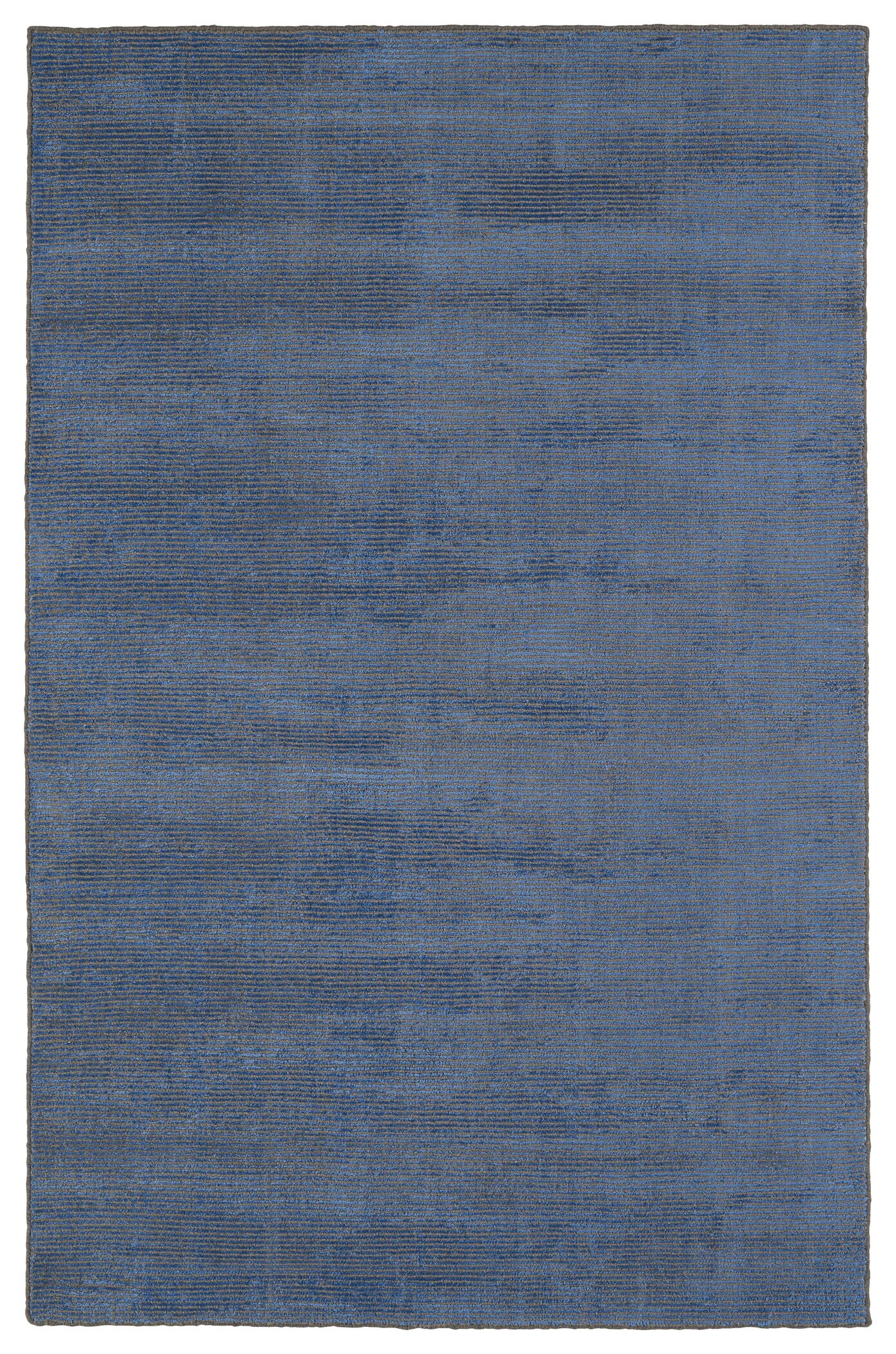Claverham Hand Woven Blue Area Rug Rug Size: Rectangle 3' x 5'