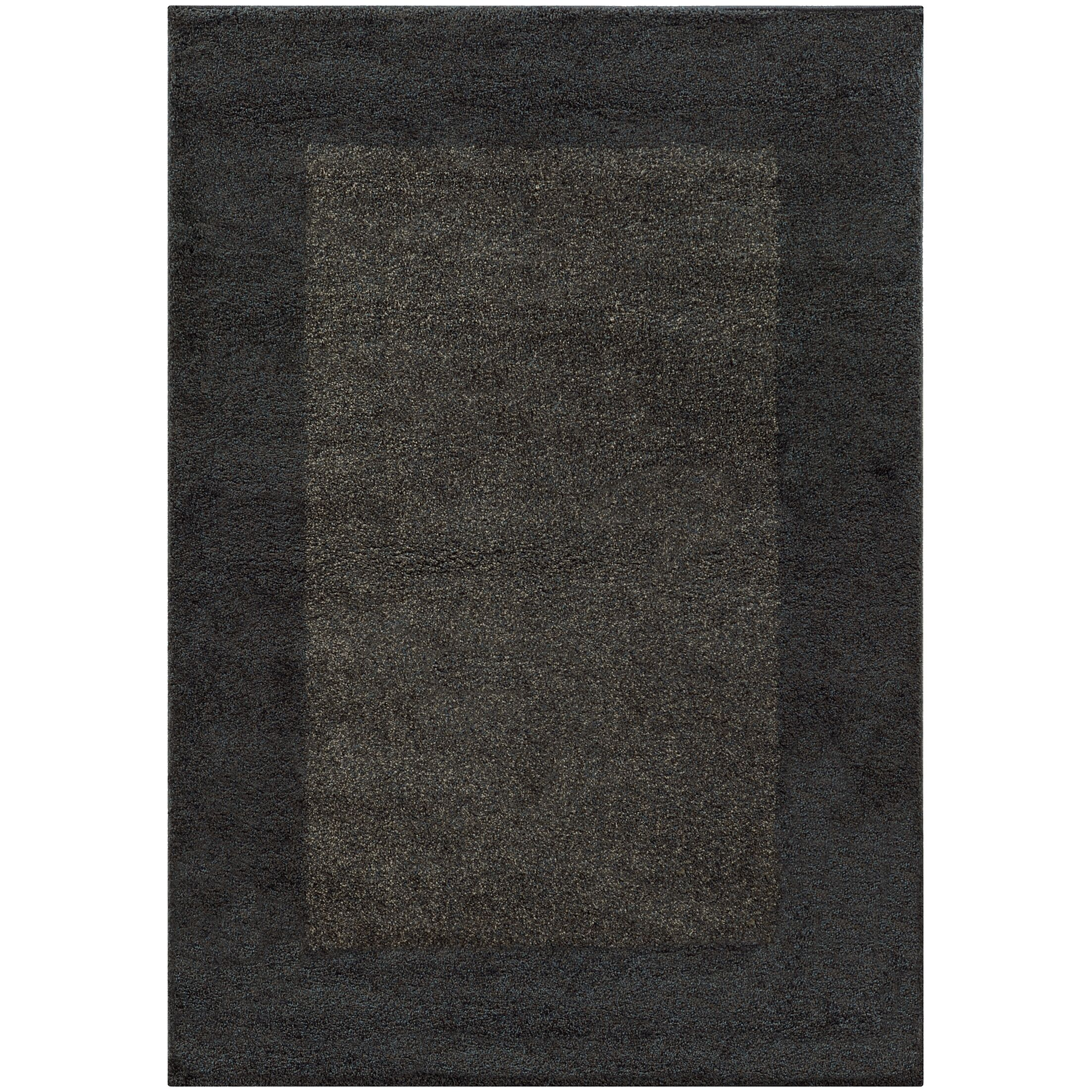 Choncey Black/Gray Area Rug Rug Size: Rectangle 6'7