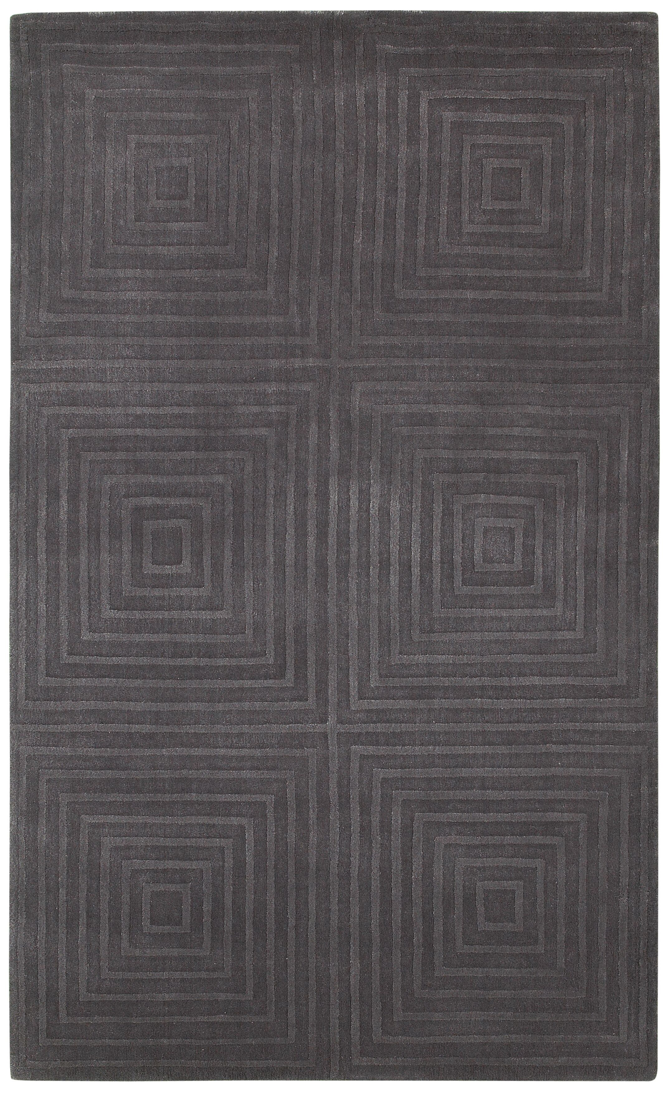 Amparo Hand-Loomed Brown Area Rug Rug Size: Rectangle 8' x 10'