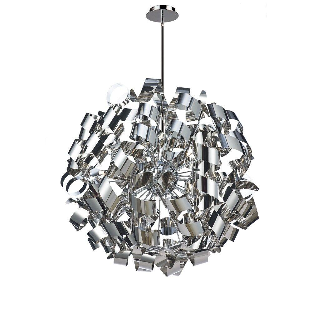 Juliet 12-Light Globe Chandelier Finish: Chrome