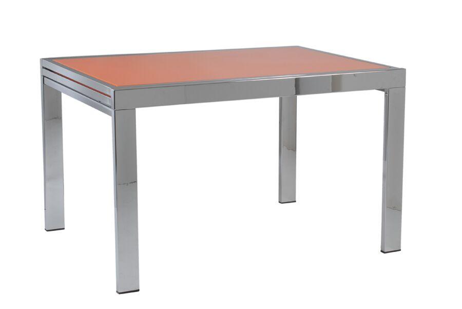 Bachand End Table Color: Chrome
