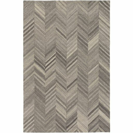 Annmarie Hand-Tufted Cream/White Area Rug Rug Size: Rectangle 8' x 10'