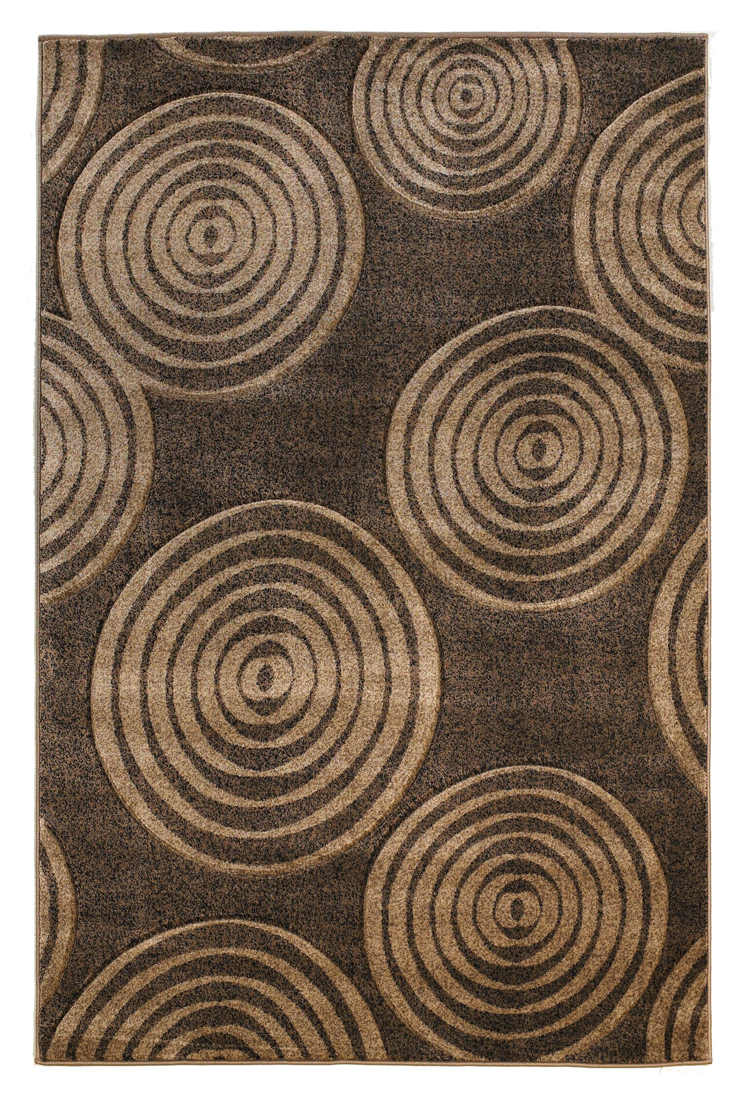 Butler Brown Area Rug Rug Size: Rectangle 5' x 7'7