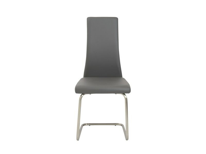 Belmont Upholstered Dining Chair Upholstery Color: Gray