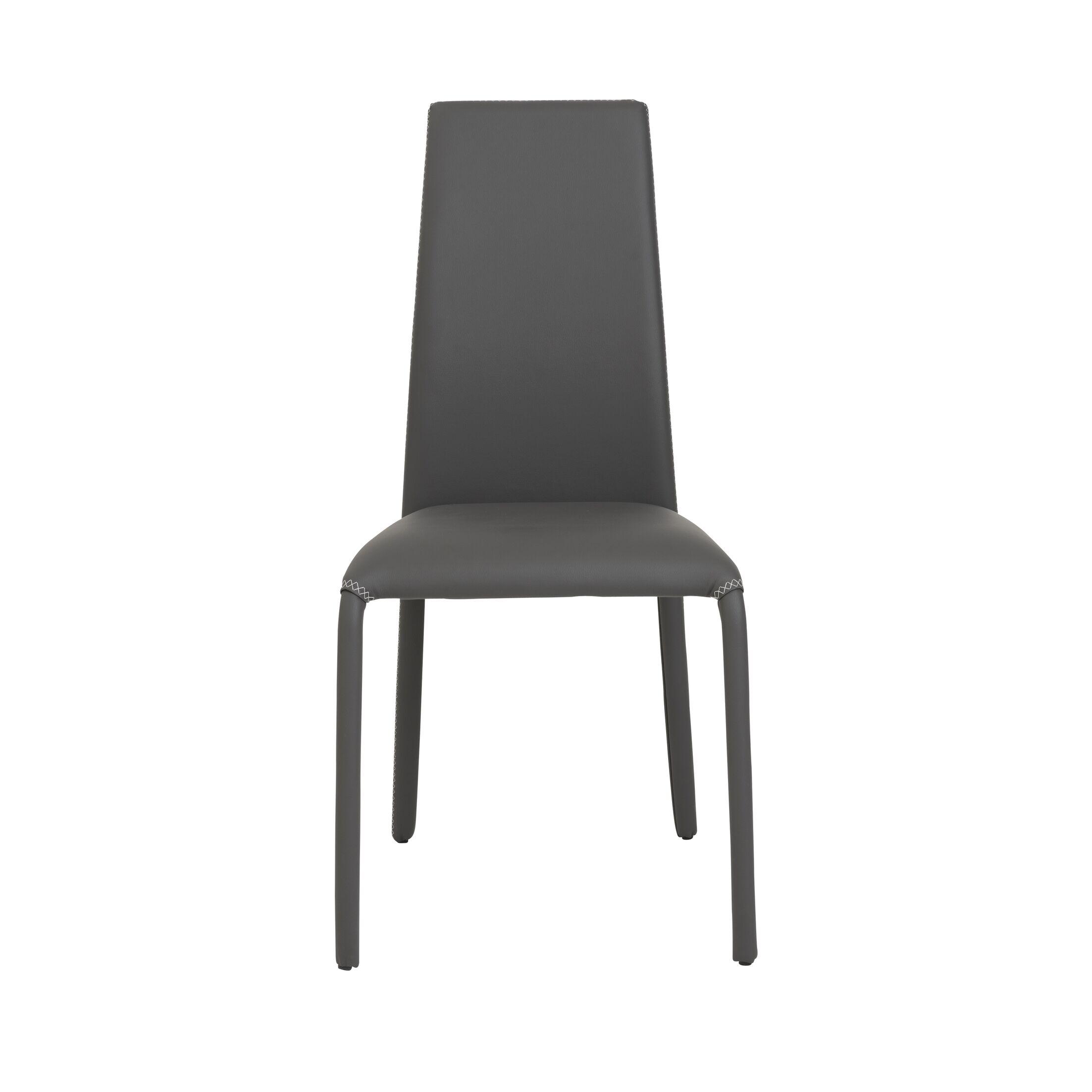 Zariyah Side Chair Finish: Gray