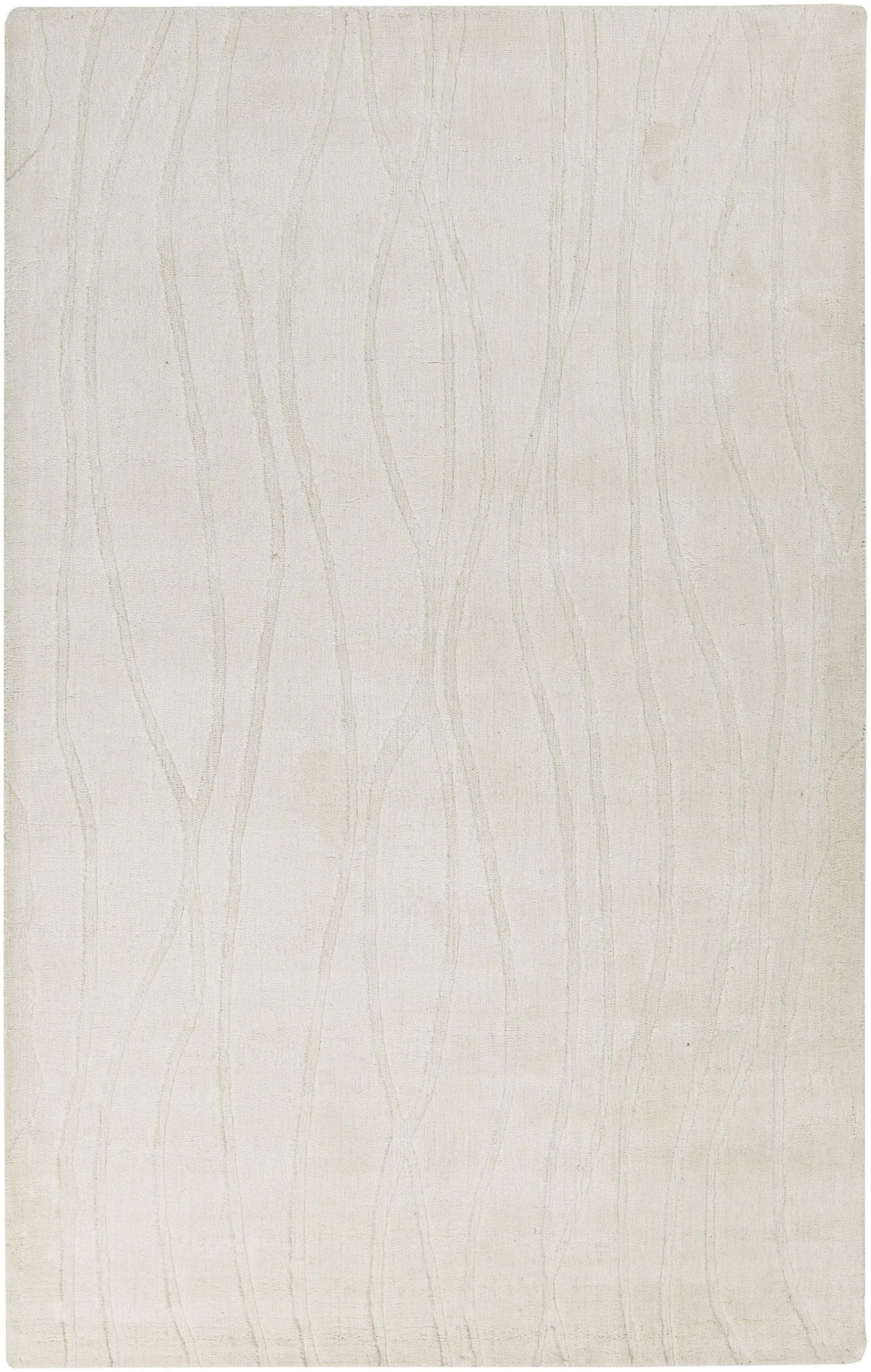 Esma Ivory Area Rug Rug Size: Rectangle 3'3