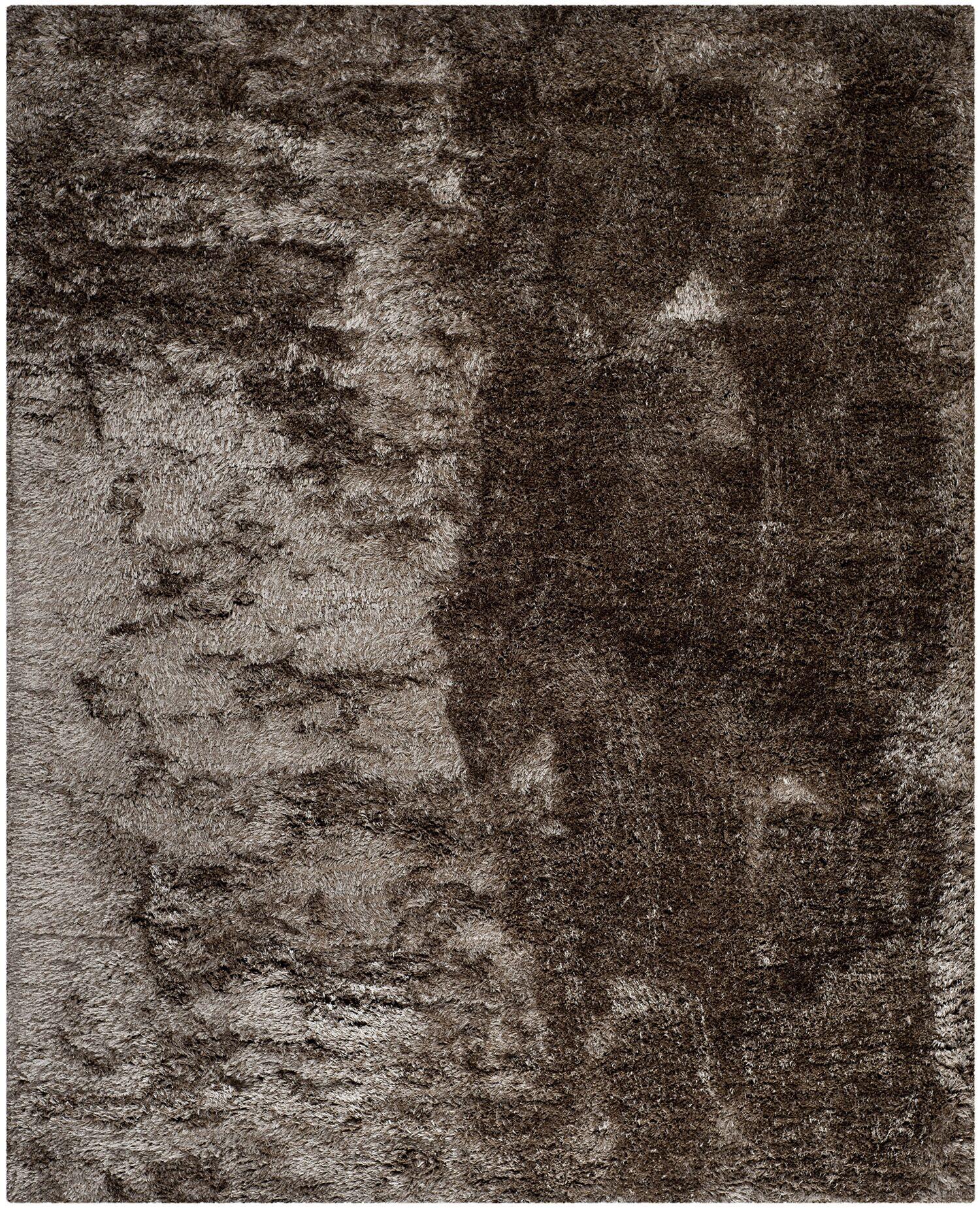 Anna Latte Shag Rug Rug Size: Rectangle 8' x 10'