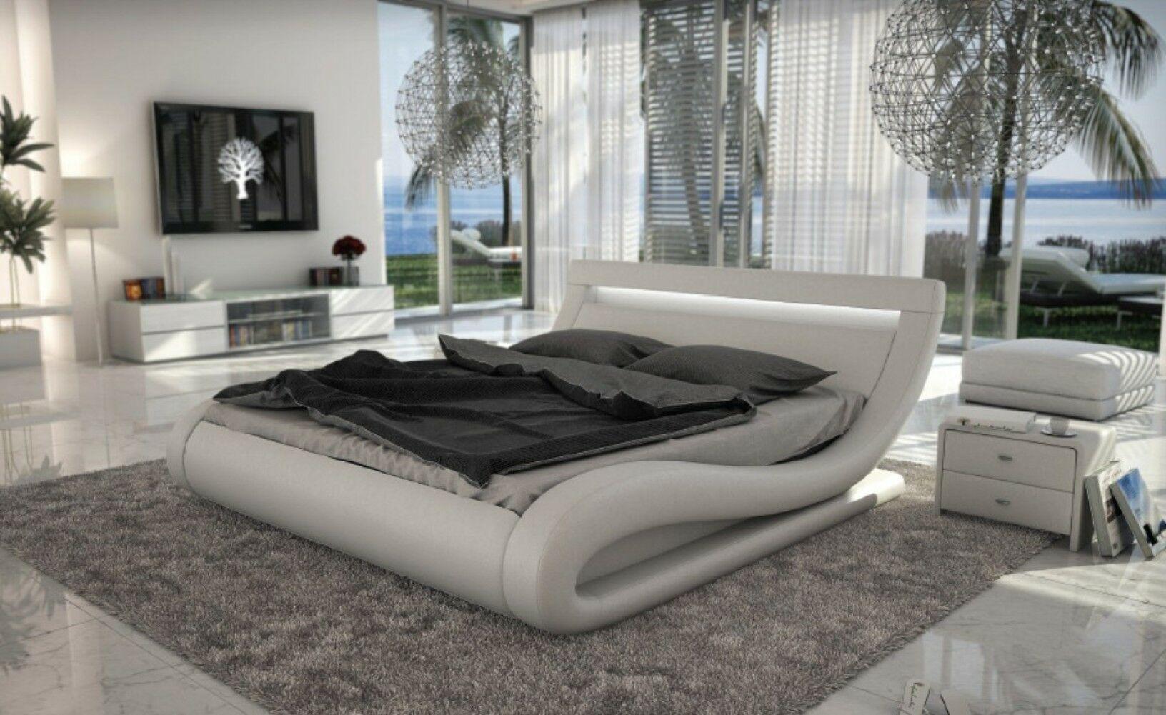 Belafonte Upholstered Platform Bed Color: White, Size: King