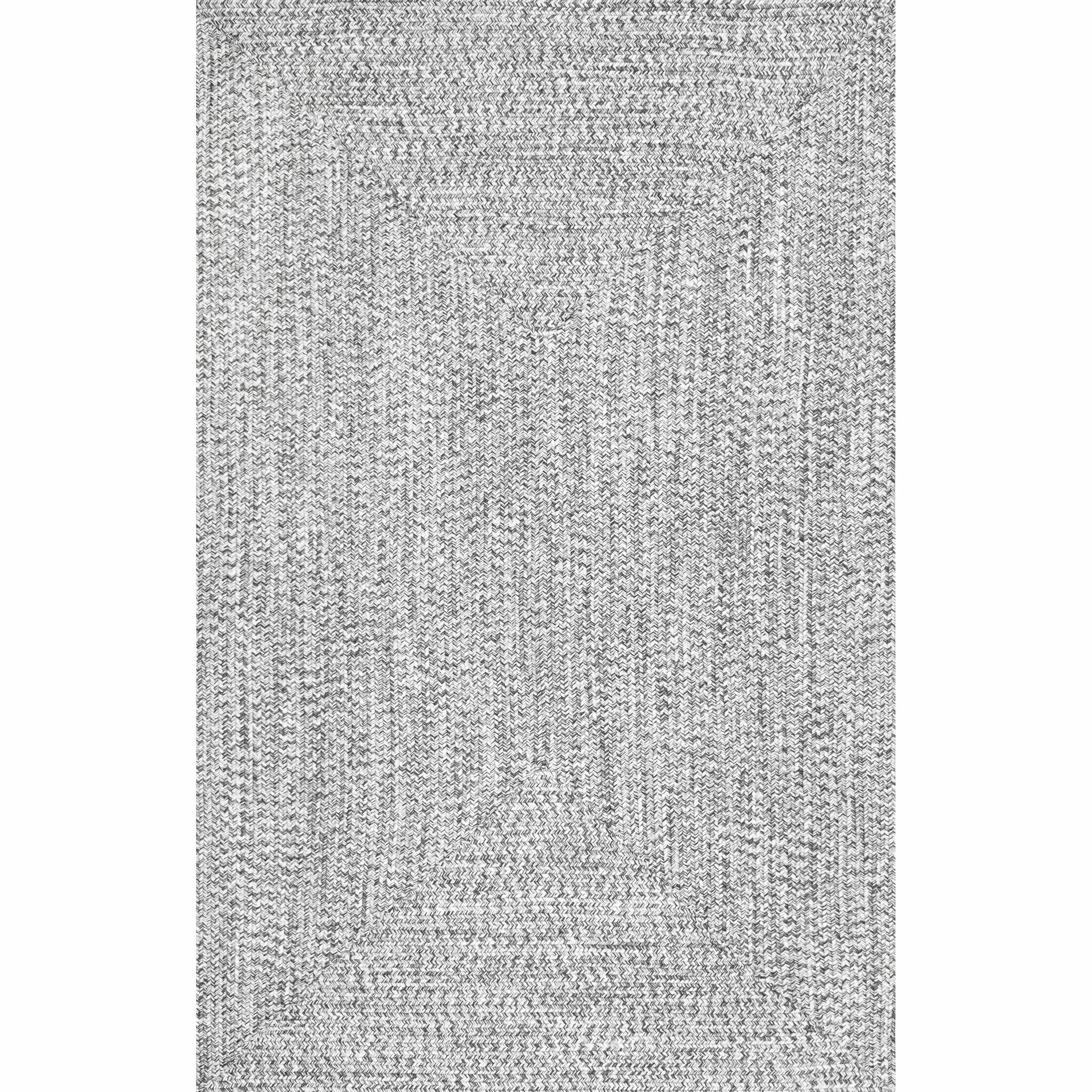 Kulpmont Gray Indoor/Outdoor Area Rug Rug Size: Rectangle 6' x 9'