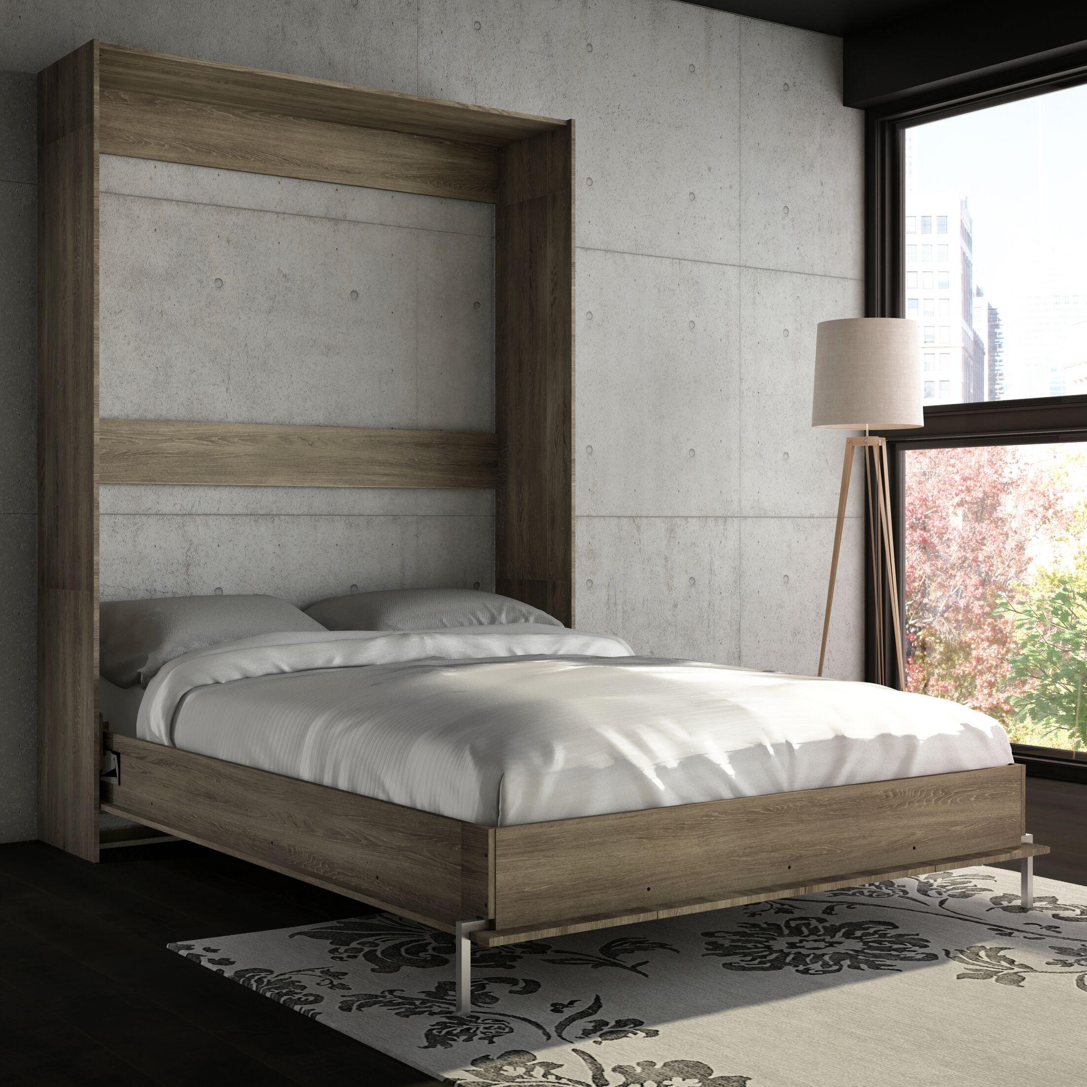 Lower Weston Murphy Bed Size: Queen, Color: Rustic Cinnamon