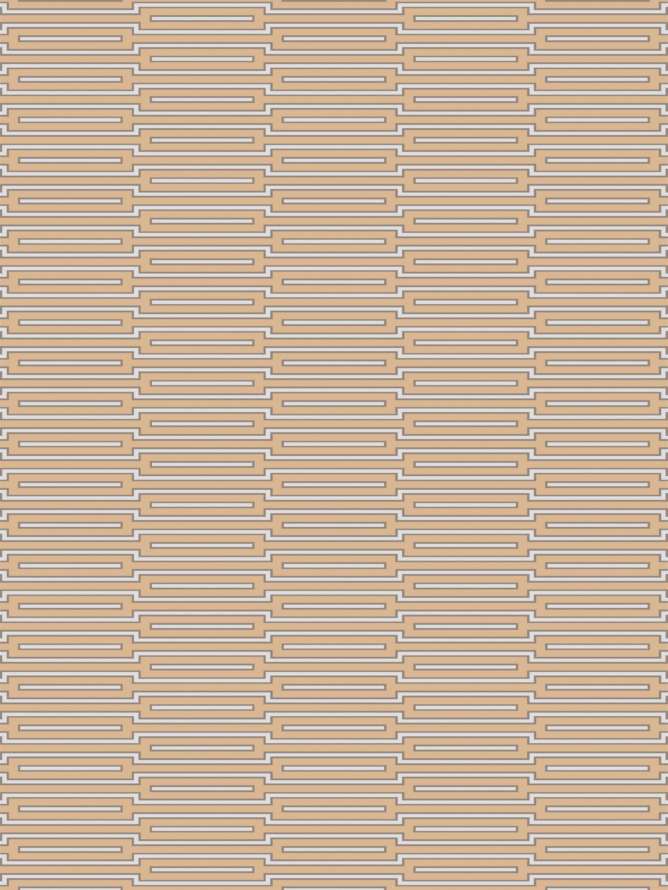 Montana Hand-Knotted Tan Area Rug Rug Size: Rectangle 5' x 8'
