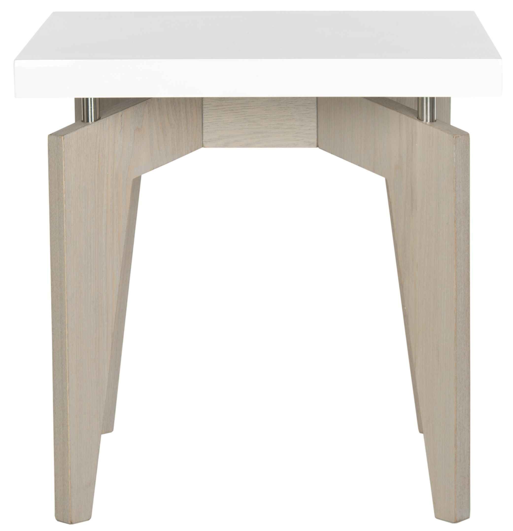 Kelly End Table Base Color: Grey