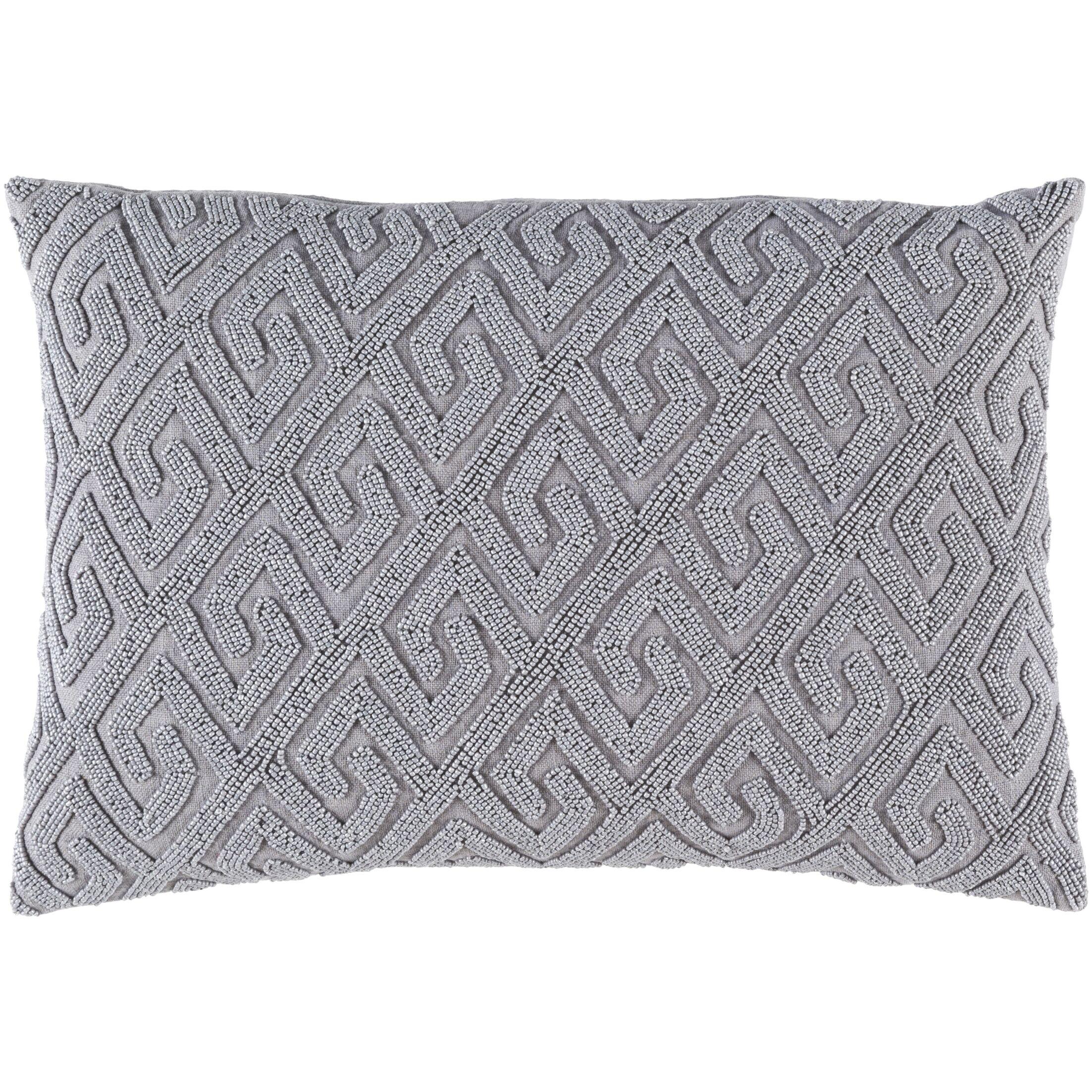 Dexter 100% Cotton Lumbar Pillow Cover Color: Gray