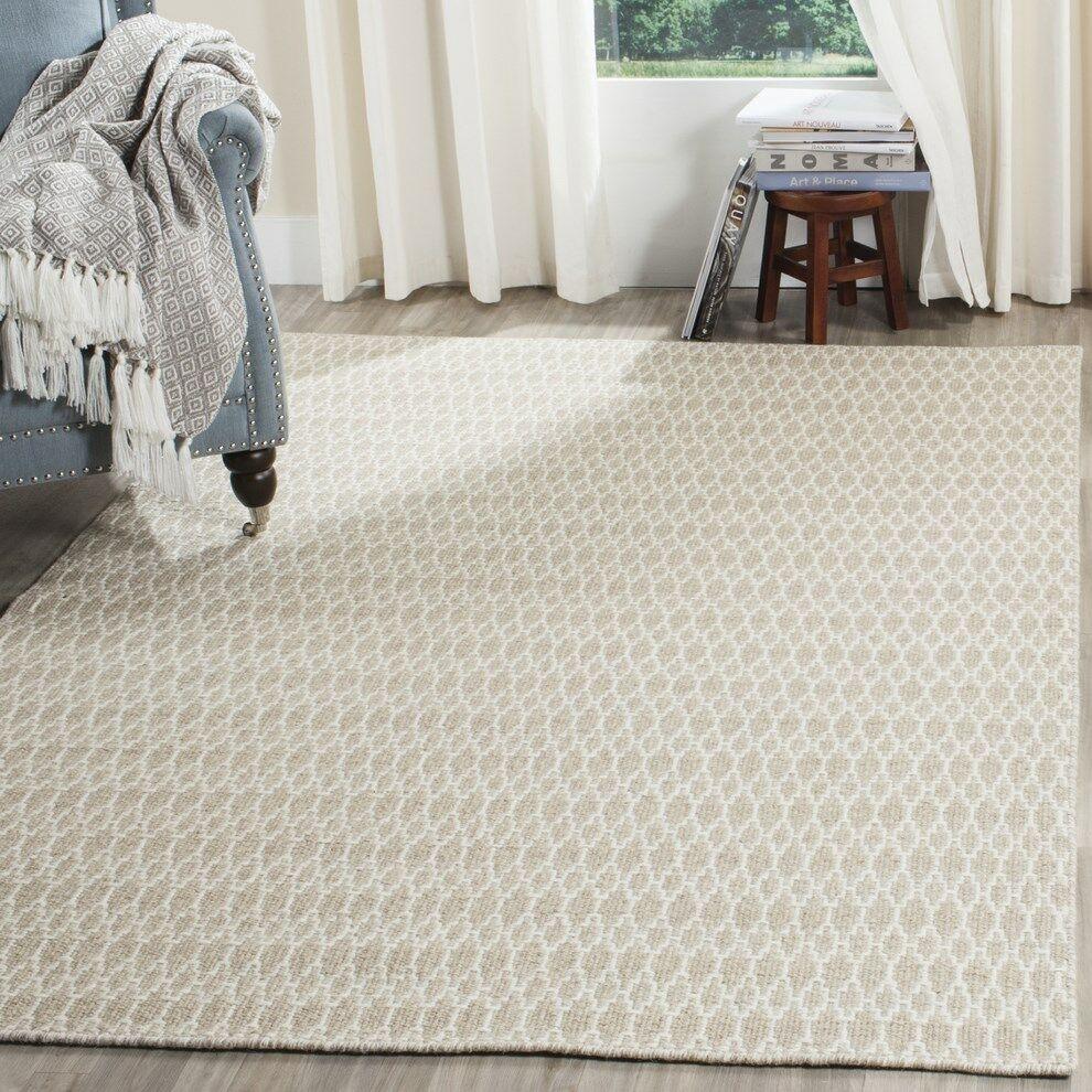 Aniwa Gray/Ivory Area Rug Rug Size: Rectangle 8' x 10'