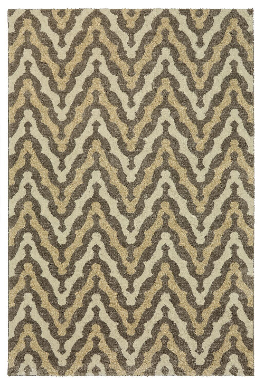 Bonino Gray/Beige Area Rug Rug Size: Rectangle 5' x 8'