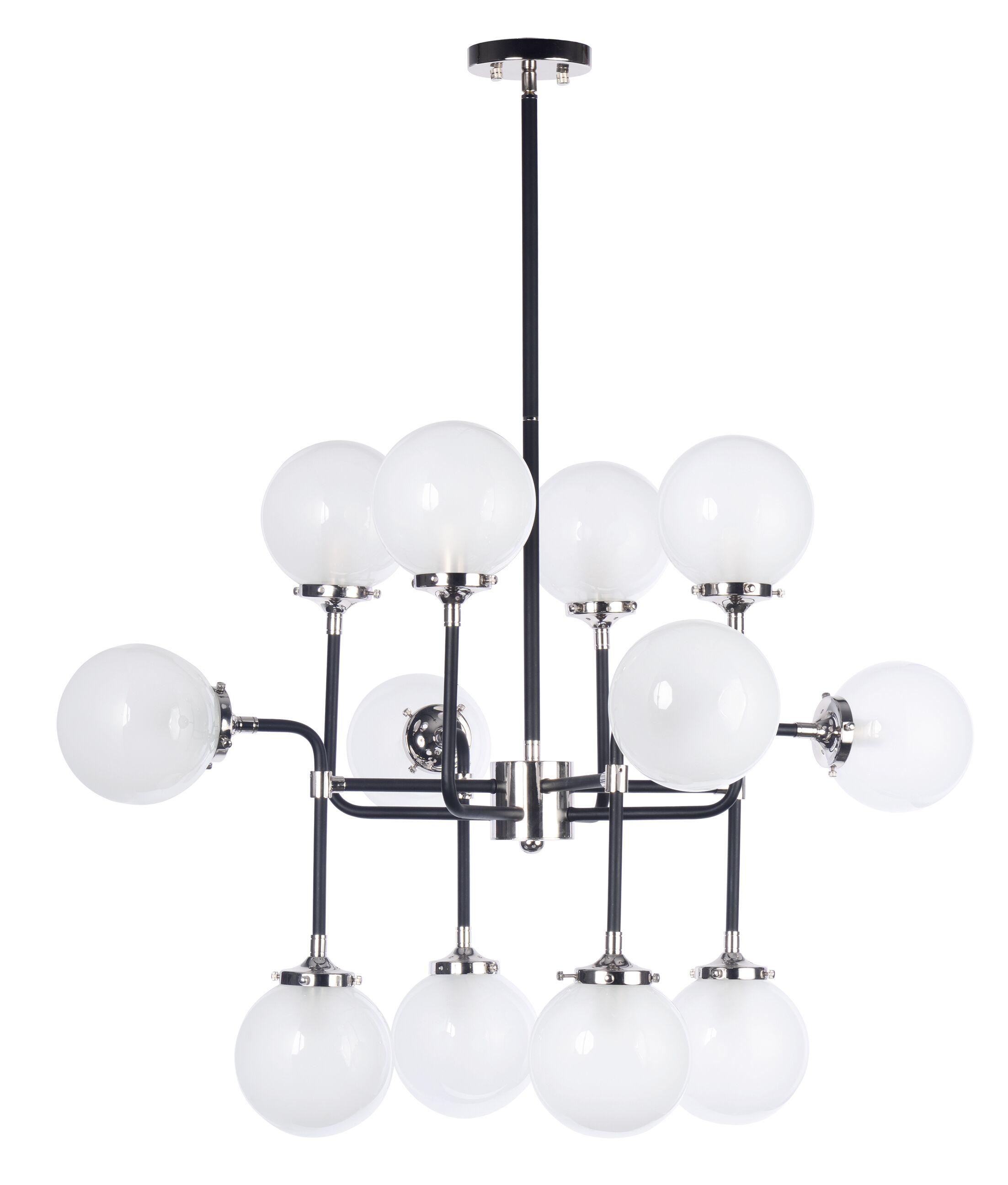 Sam 12-Light Sputnik Chandelier