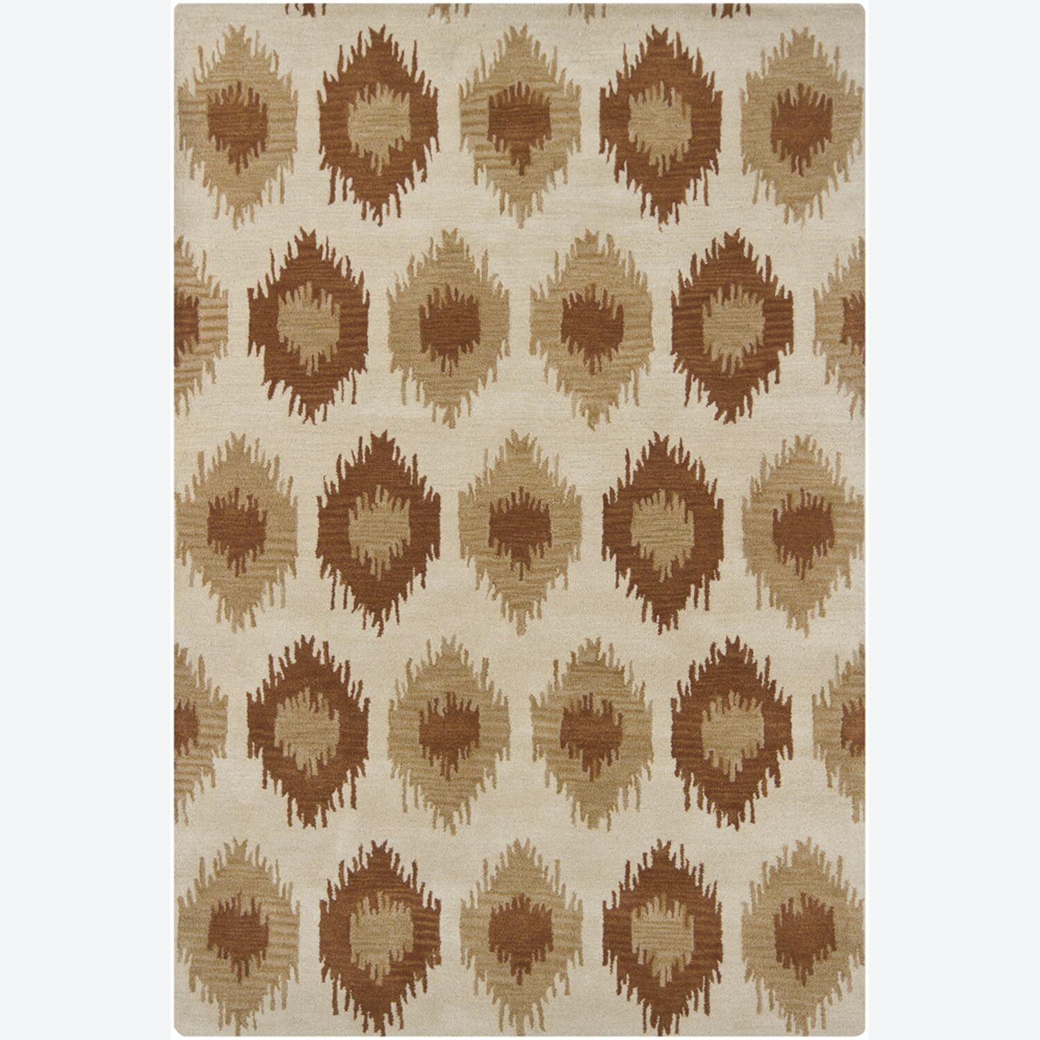 Armoy Abstract Area Rug Rug Size: 5' x 7'6