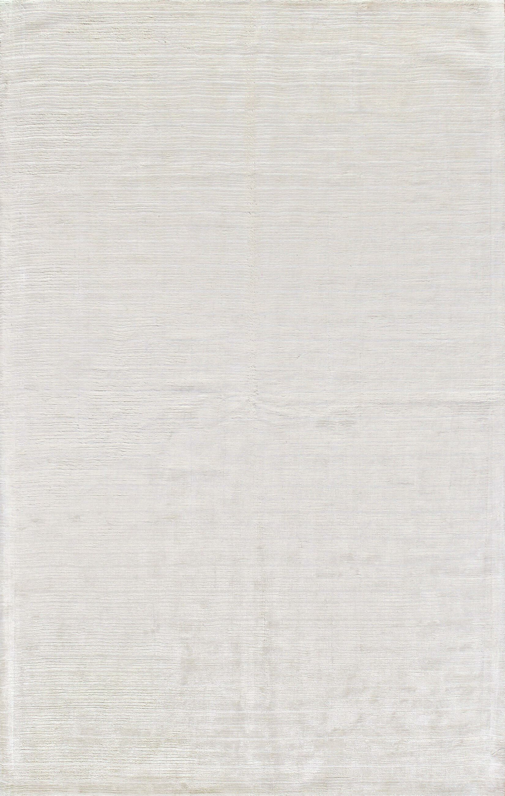 Alston Hand Woven Snow Area Rug Rug Size: 3'9