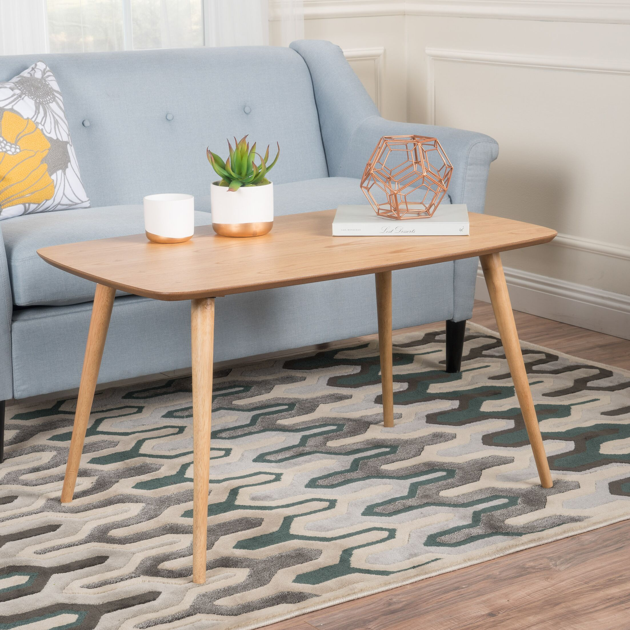 Rockwell Coffee Table Color: Natural