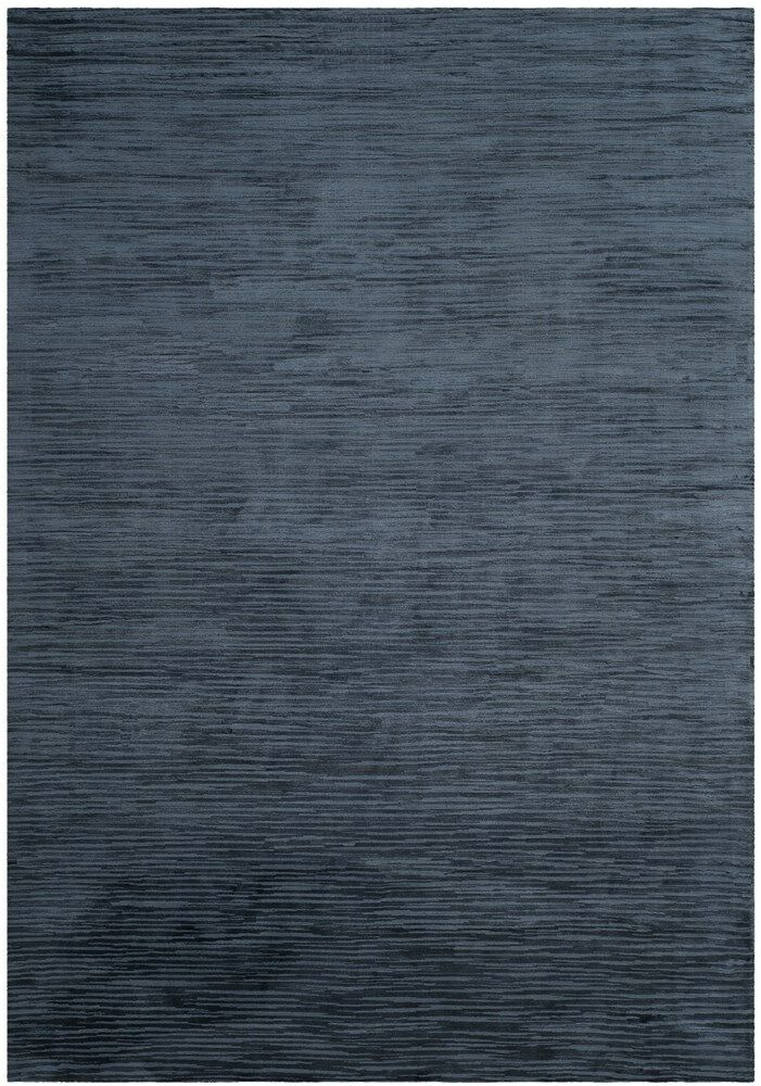 Oasis Hand-Woven Navy Area Rug Rug Size: Rectangle 9' x 12'